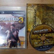 Videojuegos y Consolas: UNCHARTED 3 LA TRAICION DE DRAKE PS3 PLAYSTATION 3 PAL ESP. Lote 103931271