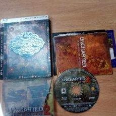 Videojuegos y Consolas: UNCHARTED 2 EL REINO DE LOS LADRONES EDICION LIMITADA PS3 PLAYSTATION 3 PAL ESP. Lote 103931343