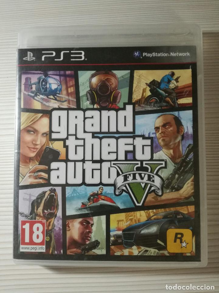 Ps3 Juego Gta V Grand Theft Auto 5 Comprar Videojuegos Y