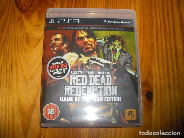 red dead redemption ps3 juego del año - pal castellano version uk