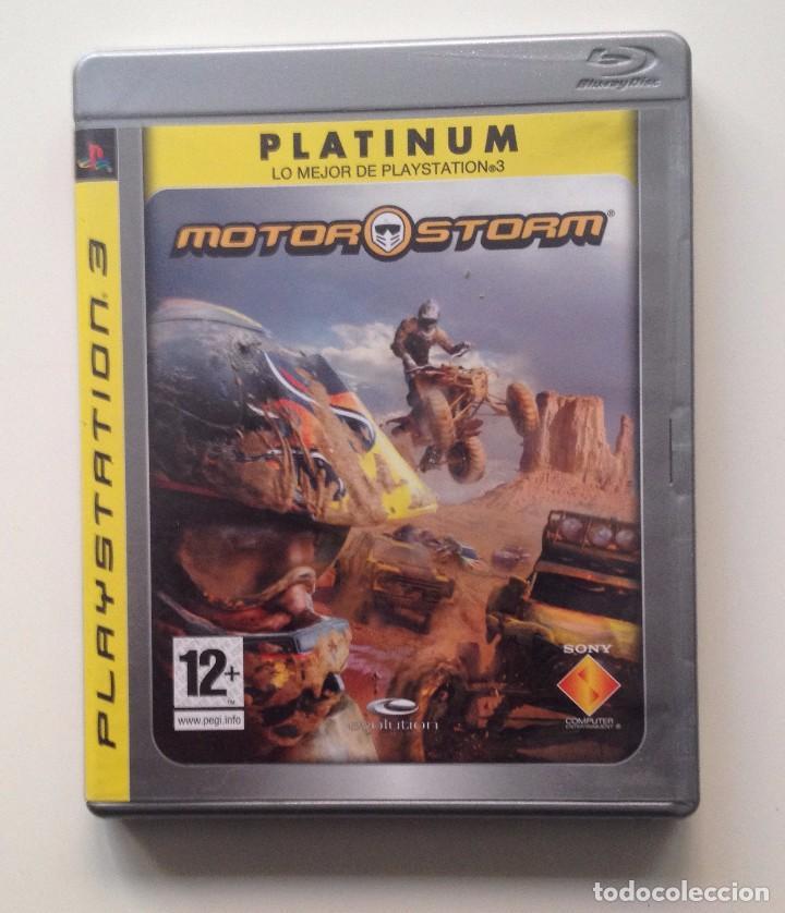 MOTOR STORM PS3 PAL/ESPAÑA (Juguetes - Videojuegos y Consolas - Sony - PS3)