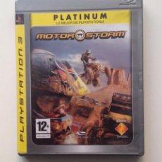 Videojuegos y Consolas: MOTOR STORM PS3 PAL/ESPAÑA. Lote 104829155
