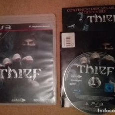 THIEF LADRON ps3 playstation 3 play station 3 kreaten