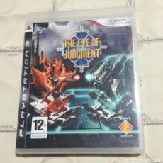 Videojuegos y Consolas: THE EYE OF JUDGMENT PLAYSTATION3 JUEGO +2 BARAJAS CARTAS Y TAPETE E INSTRUCIONES ESPAÑOL. Lote 105114063