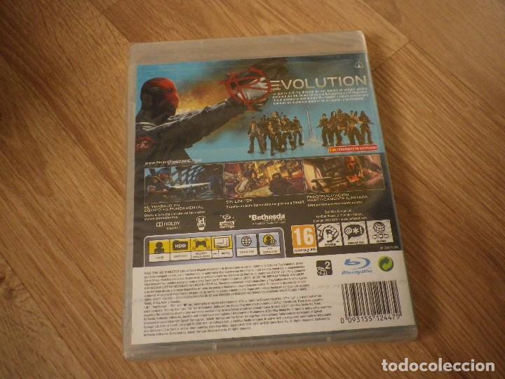 Videojuegos y Consolas: SONY PLAYSTATION 3 JUEGO BRINK NUEVO PAL ESPAÑA - Foto 2 - 105858503