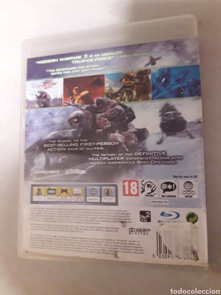 Videojuegos y Consolas: Call of duty modern warfare 2 ps3 pal uk - Foto 2 - 105945026