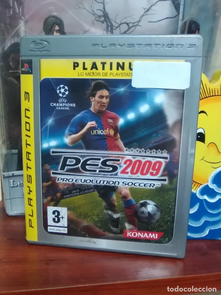 PRO EVOLUTION SOCCER 2009 - PES 2009 - KONAMI - SONY PLAYSTATION 3 - PS3 - COMPLETO (Juguetes - Videojuegos y Consolas - Sony - PS3)