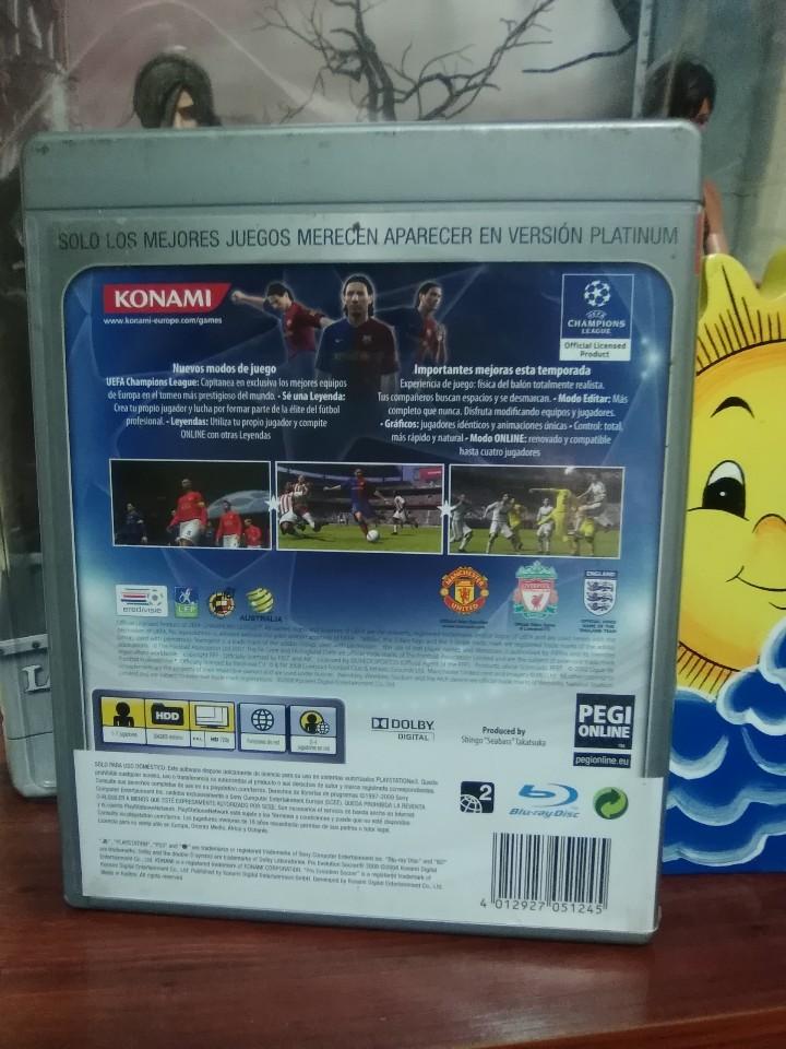 Videojuegos y Consolas: PRO EVOLUTION SOCCER 2009 - PES 2009 - KONAMI - SONY PLAYSTATION 3 - PS3 - COMPLETO - Foto 2 - 106043131