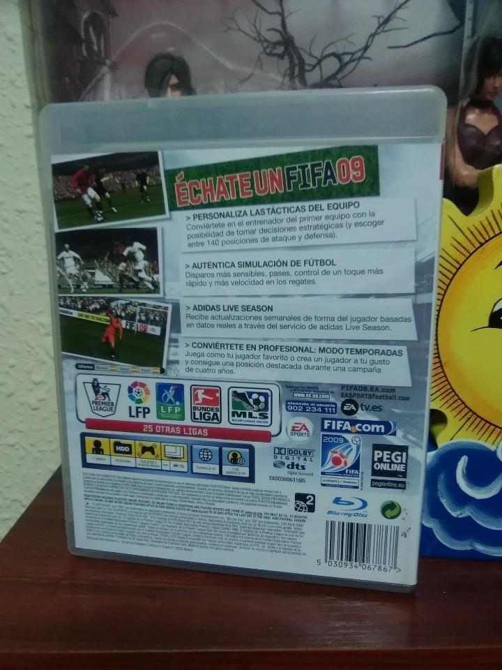 Videojuegos y Consolas: FIFA 09 - FIFA 2009 - SONY PLAYSTATION 3 - PS3 - EA SPORTS - COMPLETO - Foto 3 - 106044231