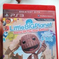 Videojuegos y Consolas: JUEGO PS3 LITTLE BIG PLANET . Lote 106745059