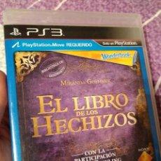 Videojuegos y Consolas: JUEGO PS3 EL LIBRO DE LOS HECHIZOS . Lote 107859755