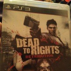 Videojuegos y Consolas: JUEGO PS3 DEAD TO RIGHTS . Lote 108304951