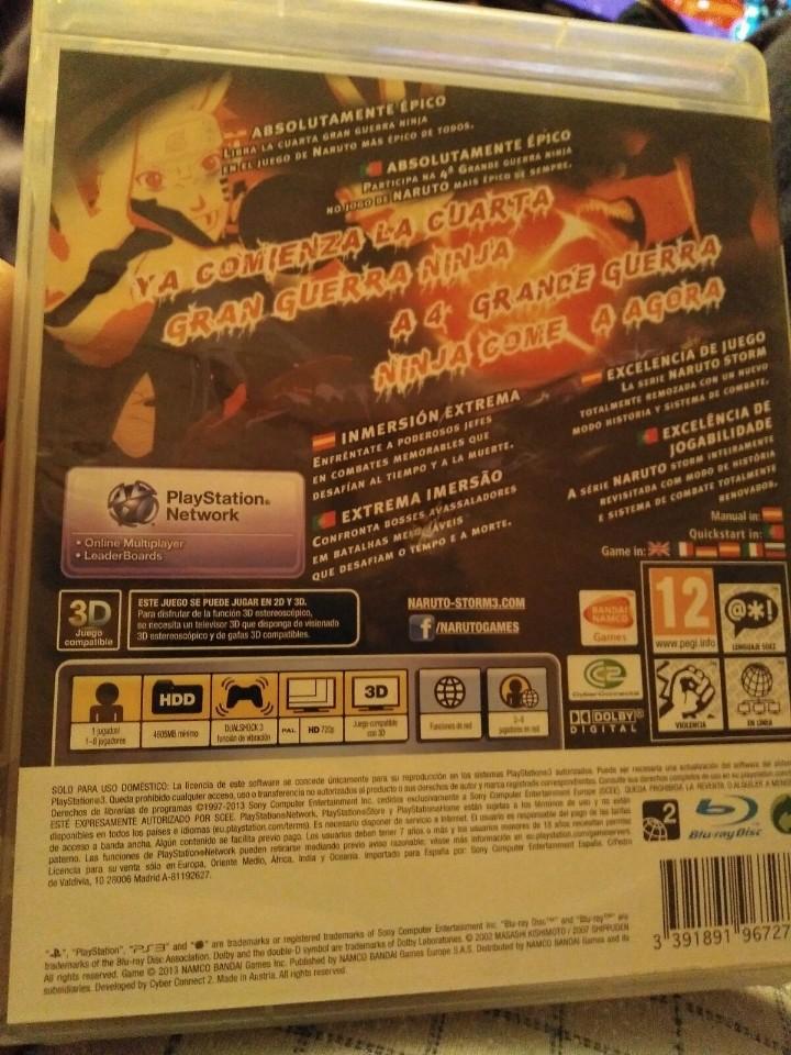 Videojuegos y Consolas: Juego ps3 ultimate ninja storm 3 - Foto 4 - 108306447