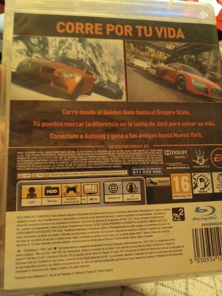 Videojuegos y Consolas: Juego ps3 need for speed - Foto 3 - 108306787