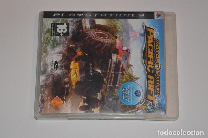 JUEGO SONY PLAYSTATION 3 PS3 MOTOR STORM PACIFIC RIFT EVOLUTION STUDIOS 2008 SIMULADOR BLU-RAY (Juguetes - Videojuegos y Consolas - Sony - PS3)