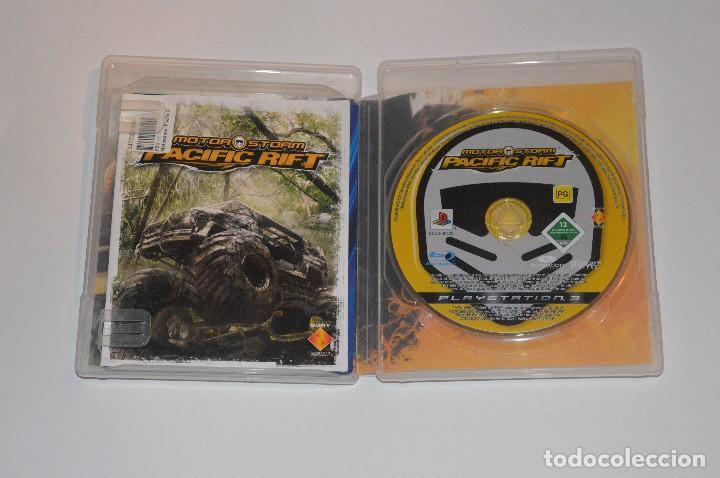 Videojuegos y Consolas: JUEGO SONY PLAYSTATION 3 PS3 MOTOR STORM PACIFIC RIFT EVOLUTION STUDIOS 2008 SIMULADOR BLU-RAY - Foto 2 - 108406475