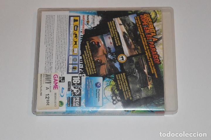 Videojuegos y Consolas: JUEGO SONY PLAYSTATION 3 PS3 MOTOR STORM PACIFIC RIFT EVOLUTION STUDIOS 2008 SIMULADOR BLU-RAY - Foto 3 - 108406475