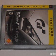 Videojuegos y Consolas: JUEGO SONY PLAYSTATION 3 PS3 GRAN TURISMO 5 PROLOGUE THE REAL DRIVING SIMULATOR SIMULADOR CARRERAS. Lote 108407203