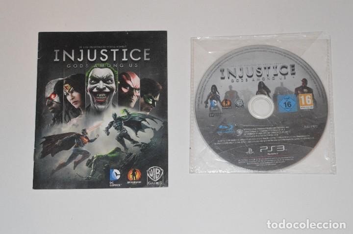 JUEGO SONY PLAYSTATION 3 PS3 INJUSTICE GODS AMONG US COMBATE DC COMICS WARNER BROS GAMES 2013 (Juguetes - Videojuegos y Consolas - Sony - PS3)
