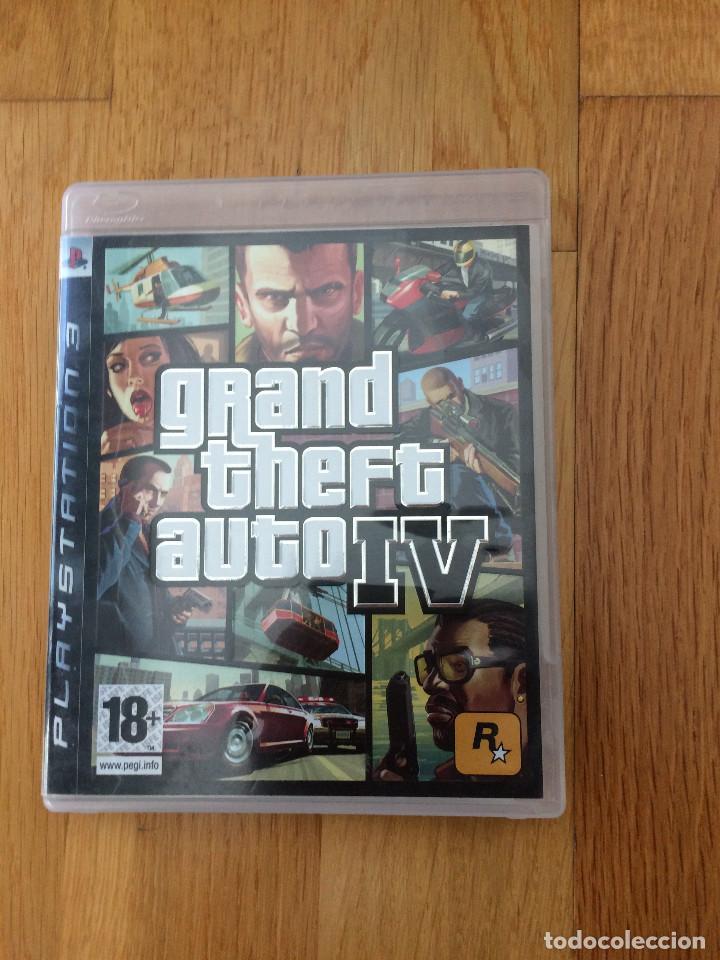 GTA IV PARA PS3 ESPAÑA (Juguetes - Videojuegos y Consolas - Sony - PS3)