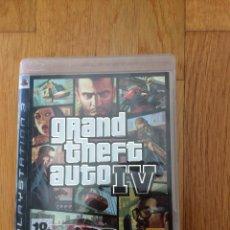 Videojuegos y Consolas: GTA IV PARA PS3 ESPAÑA. Lote 108731675