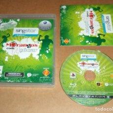 Videojuegos y Consolas: SINGSTAR : MORANGOS COM AÇUCAR , COMPLETO PARA SONY PLAYSTATION 3 / PS 3 , PAL. Lote 109459111