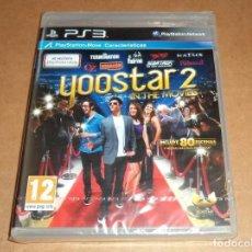 Videojuegos y Consolas: YOOSTAR 2 : IN THE MOVIES PARA SONY PS3 , A ESTRENAR , PAL. Lote 109462215