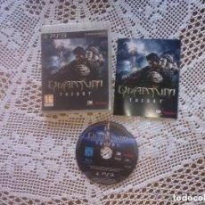 Videojuegos y Consolas: JUEGO PLAY 3 QUANTUM THEORY. Lote 109467583