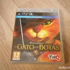 Videojuegos y Consolas: SONY PLAYSTATION 3 JUEGO EL GATO CON BOTAS NUEVO PAL ESPAÑA. Lote 109612503