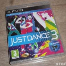 Videojuegos y Consolas: SONY PLAYSTATION 3 JUEGO JUST DANCE 3 NUEVO VERSIÓN ESPAÑOLA. Lote 109612727