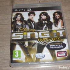 Videojuegos y Consolas: SONY PLAYSTATION 3 PS3 JUEGO SING IT PARTY HIST DE DISNEY NUEVO. Lote 109613227