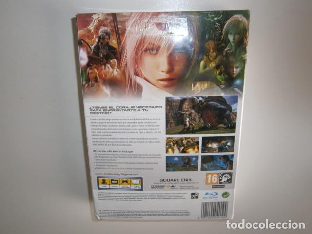 Videojuegos y Consolas: Final Fantasy XIII Edicion Coleccionista PS3 nuevo - Foto 4 - 109819591