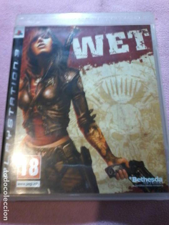 WET PS3 PAL ESPAÑA COMPLETO (Juguetes - Videojuegos y Consolas - Sony - PS3)