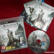 Videojuegos y Consolas: ASSASSIN'S CREED III PARA PS3. Lote 111906539
