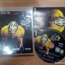 Videojuegos y Consolas: LE TOUR DE FRANCE - PS3 PLAYSTATION 3 PAL ESP. Lote 111967663