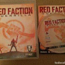 Videojuegos y Consolas: RED FACTION GUERRILLA PS3 PLAYSTATION 3 PLAY STATION 3 KREATEN. Lote 112175403