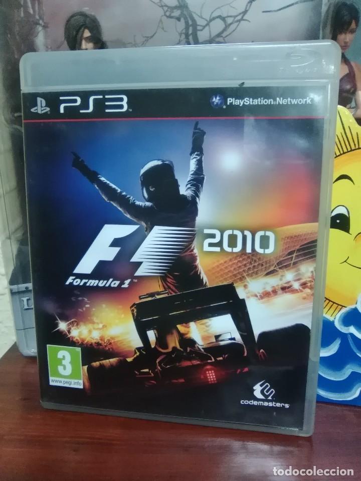 FORMULA 1 2010 - F1 2010 - SONY PLAYSTATION 3 - PS3 - CODEMASTERS - COMPLETO