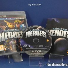 Videojuegos y Consolas: JUEGO PLAY 3 MOVE HEROES. Lote 113092827