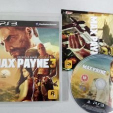 Videojuegos y Consolas: MAX PAYNE 3 - PS3 PLAYSTATION 3 PAL ESP. Lote 113157295