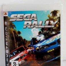 Videojuegos y Consolas: SEGA RALLY DE PS3 COMPLETO CON INSTRUCCIONES PLAYSTATION 3 PLAY STATION. Lote 113174119