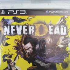 Videojuegos y Consolas: NEVERDEAD. JUEGO PARA SONY PLAYSTATION 3 / PS3. NUEVO, PRECINTADO.. Lote 113209127