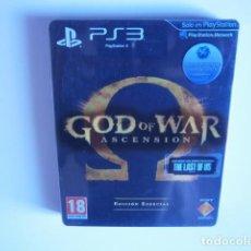 Videojuegos y Consolas: GOD OF WAR ASCENSION EDICION ESPECIAL PS3. Lote 113229147
