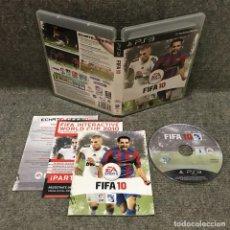 Videojuegos y Consolas: FIFA 10·PLAYSTATION 3. Lote 113236426