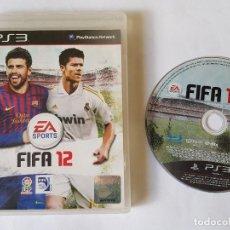 Videojuegos y Consolas: FIFA 12 PS3 PAL ESPAÑA. Lote 113292199