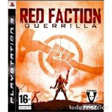 Videojuegos y Consolas: PS3 RED FACTION GUERRILLA. Lote 113487987