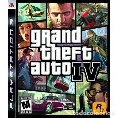 Videojuegos y Consolas: PS3 GRAND THEFT AUTO IV. Lote 113488467