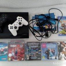 Videojuegos y Consolas: LOTE PS3 + 2 MANDOS + 5 JUEGOS. Lote 114128663