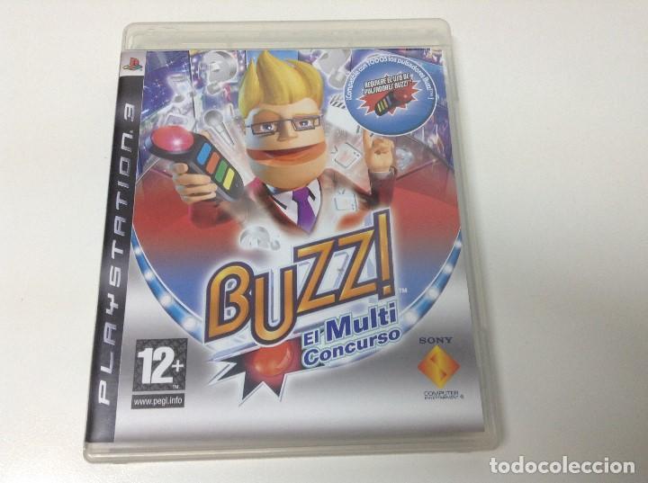BUZZ! EL MULTICONCURSO (Juguetes - Videojuegos y Consolas - Sony - PS3)