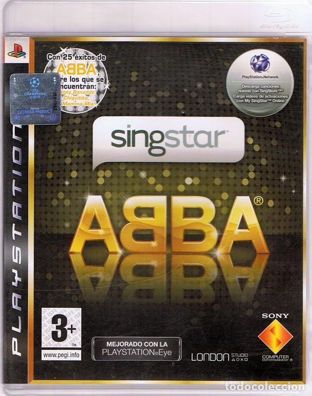 JUEGO PLAYSTATION 3 SINGSTAR ABBA (Juguetes - Videojuegos y Consolas - Sony - PS3)