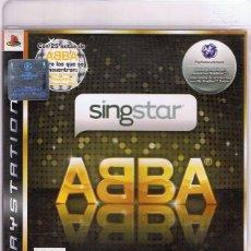 Videojuegos y Consolas: JUEGO PLAYSTATION 3 SINGSTAR ABBA . Lote 116095535